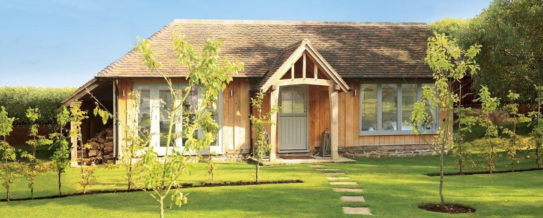 1 bedroom oak framed annexe