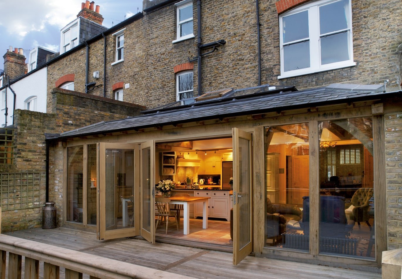 Central London Terraced Orangery Extension