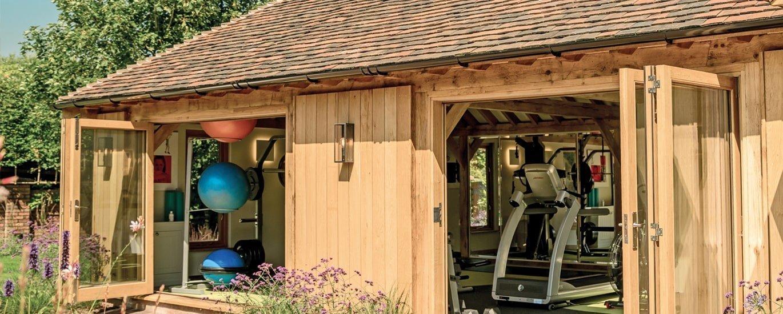 Oak framed Gym