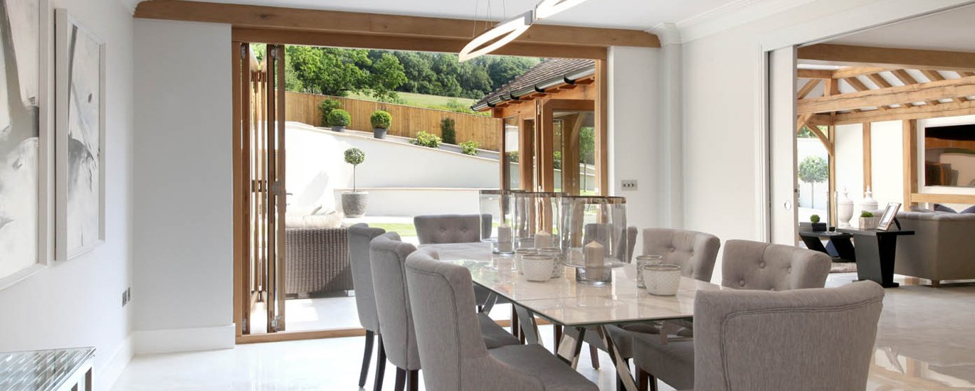 Modern contemporary high end extension