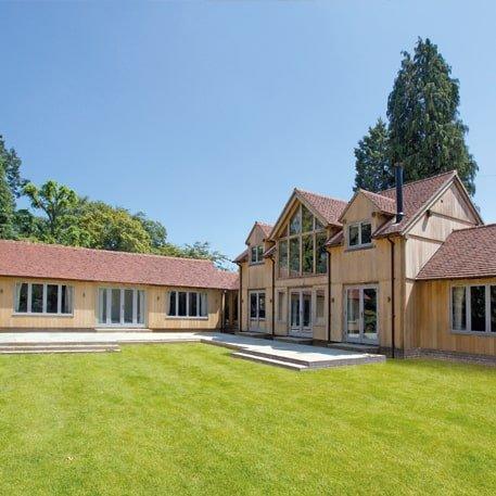 Oak framed complex