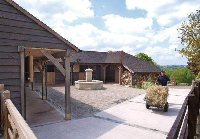 Oak stables