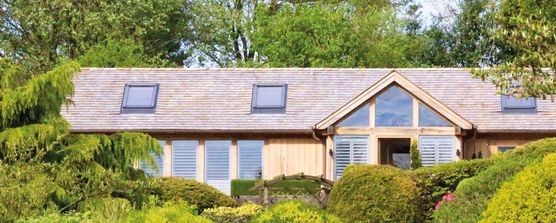 Oak framed bespoke annexe